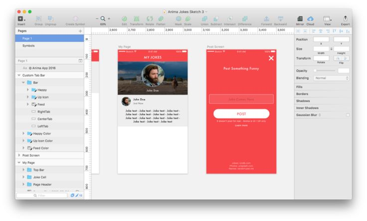 How to design for all screen sizes at once Defining dynamic layout constraints using Anima