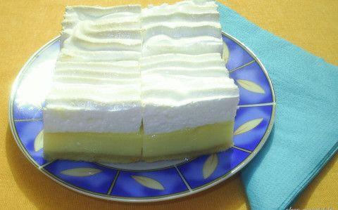 Habos-túrós süti recept fotóval