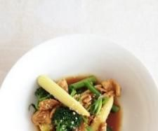Recipe Sesame Lemon Chicken with Ginger by Caroline Novinc - Recipe of category Main dishes - meat