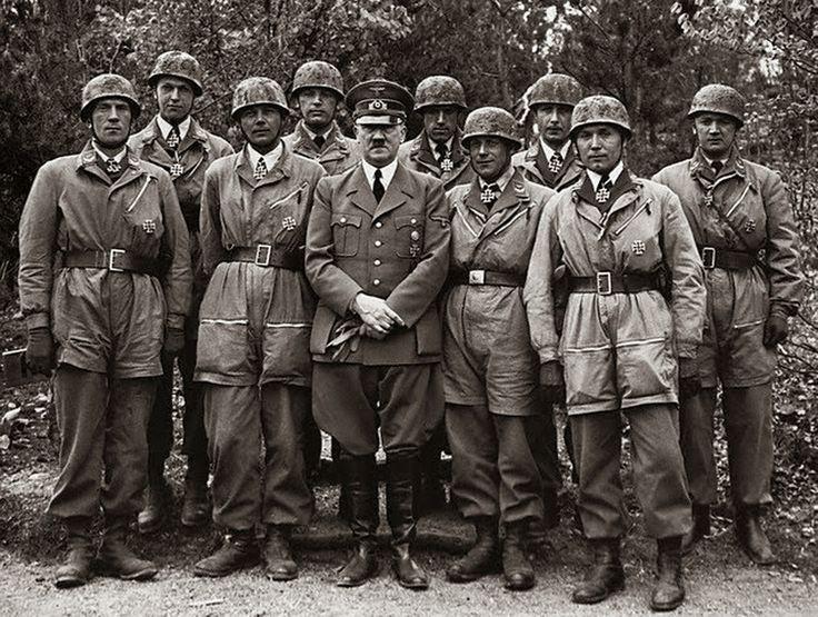 "World War II Pictures In Details: Ritterkreuz Award Ceremony for Sturm-Abteilung ""Koch"" 13 mai 1940"