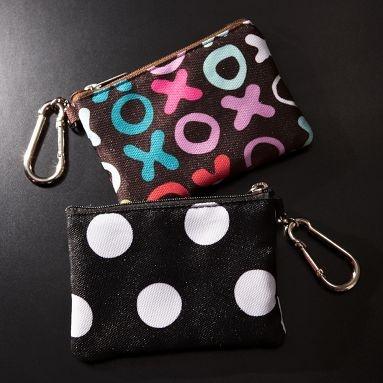 Clasp.  Zipper pouch charm