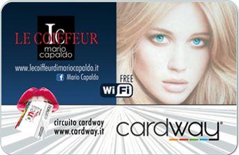 """""""Le Coiffeur Mario Capaldo"""", Attività convenzionata CardWay. Qui ricarica Gratis la Card del 5%. Siamo in Via Teodoro Capocci, quartiere Arenella, Napoli."""