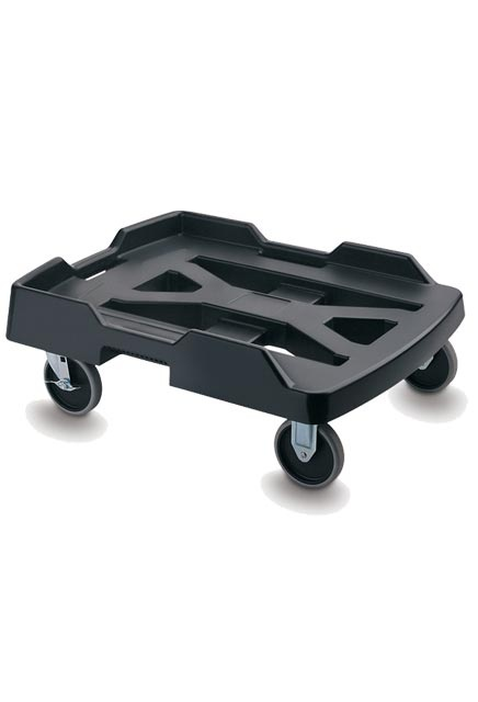 Caster Base with strap: Heavy-duty Dolly for food bag transport