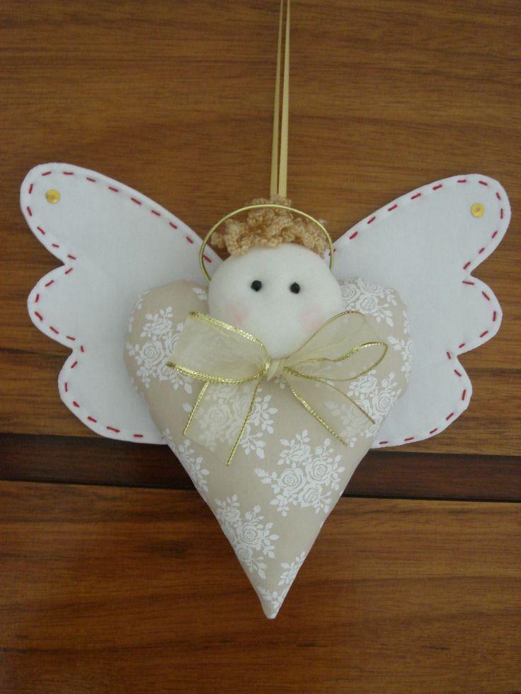 pingente anjo da guarda do pano - Buscar con Google