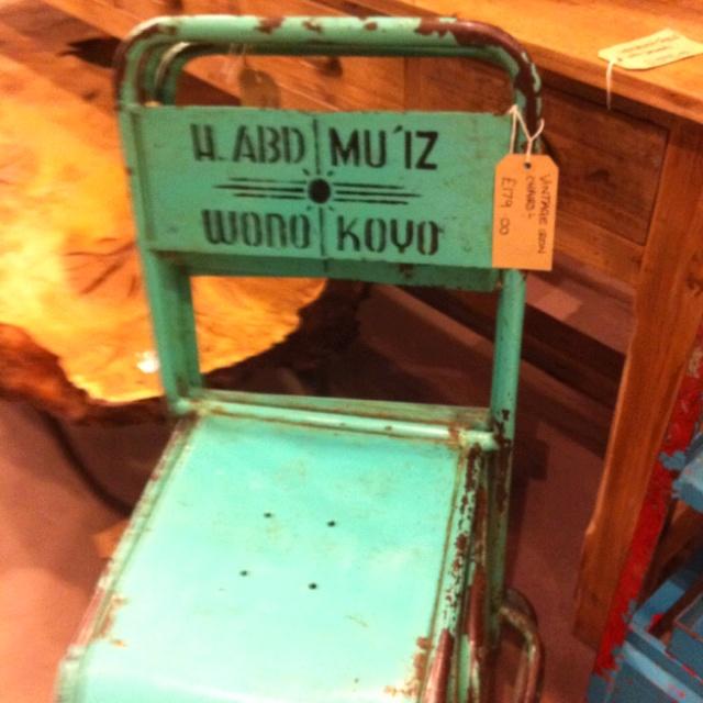 Brilliant chairs