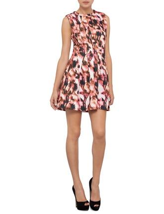 Staple the label Neon Thistle Panel Dress, $83, from David Jones