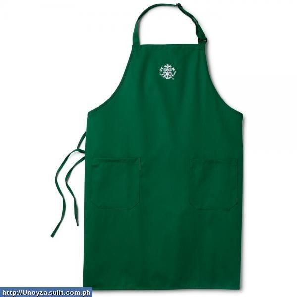 Starbucks Apron New Logo P1000 ❤ liked on Polyvore featuring apron and starbucks