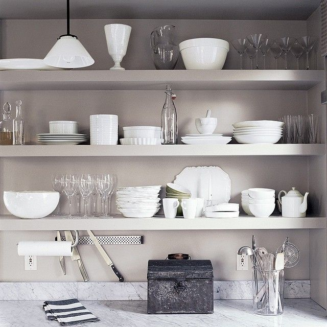Open Kitchen Shelving And The Flexibility That Comes With It: 46 Best Small Kitchen / Ideas & Solutions Images On