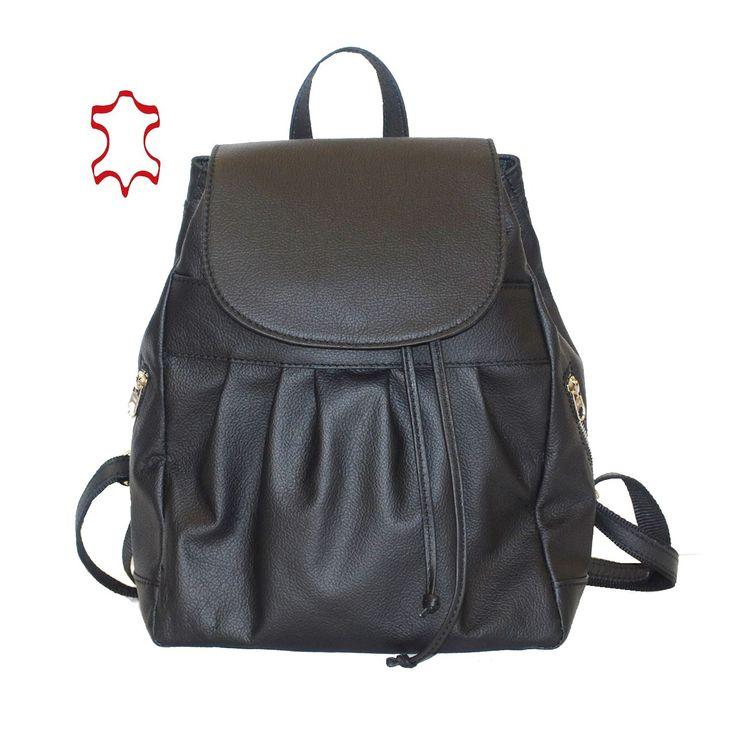 Luxusný kožený ruksak z pravej hovädzej kože. Pravá prírodná koža je úžasný materiál a kožený ruksak vám môže vydržať pokojne celý život. https://www.vegalm.sk
