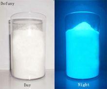 50g/lot Sky-blue Color photoluminescent powder és csillámpor ragasztóval és csillagokat festeni lehet vagy bármit...falat, barmit dekor