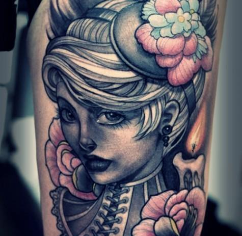 A cool tattoo