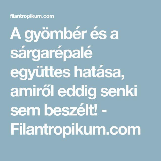 A gyömbér és a sárgarépalé együttes hatása, amiről eddig senki sem beszélt! - Filantropikum.com