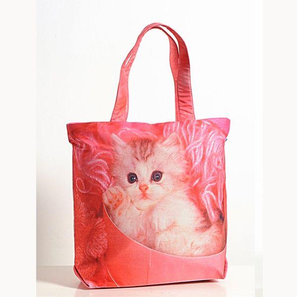Animal Theme Bag - Cats-1