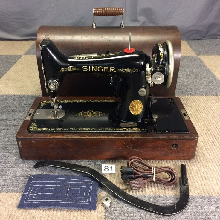Details about Professional Serviced 1926 Vintage Singer 99 ...