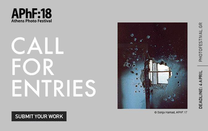 Υποβολή Προτάσεων για το Athens Photo Festival 2018
