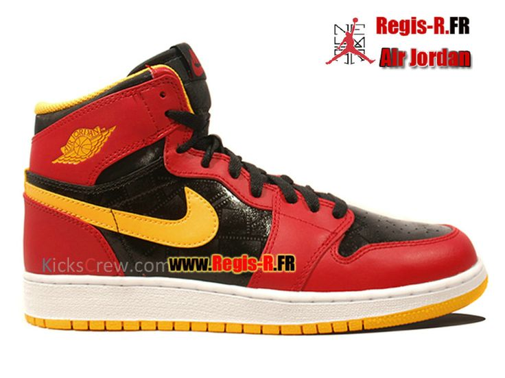 Nike Air Jordan 1 Retro High GS - Chaussures Basket Jordan Pas Cher Pour  Femme/