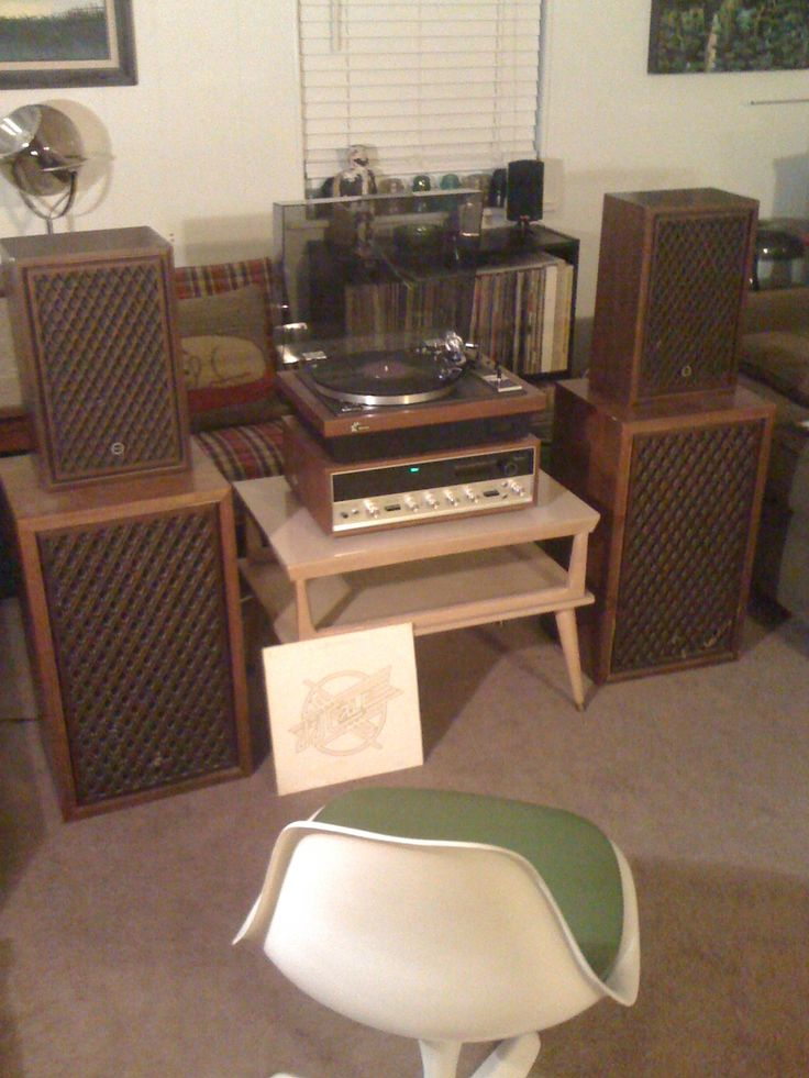 Stacked Sansui Speakers Set Up Part 46