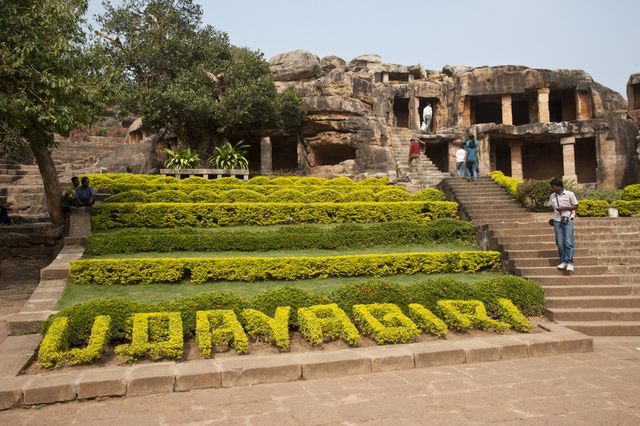 10 Places Find Amazing Caves in India: Udayagiri and Khandagiri Caves