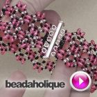Tutorial - Videos: How to Bead Weave a Twin Bead Bracelet Using a Circular Stitch | Beadaholique