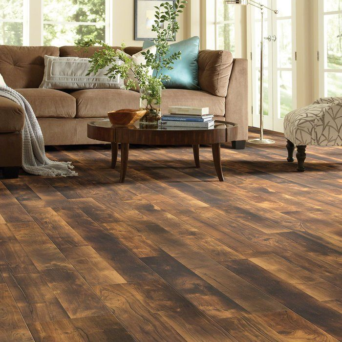 Shaw Floors Legend 8 X 48 X 6mm Maple Laminate Flooring In
