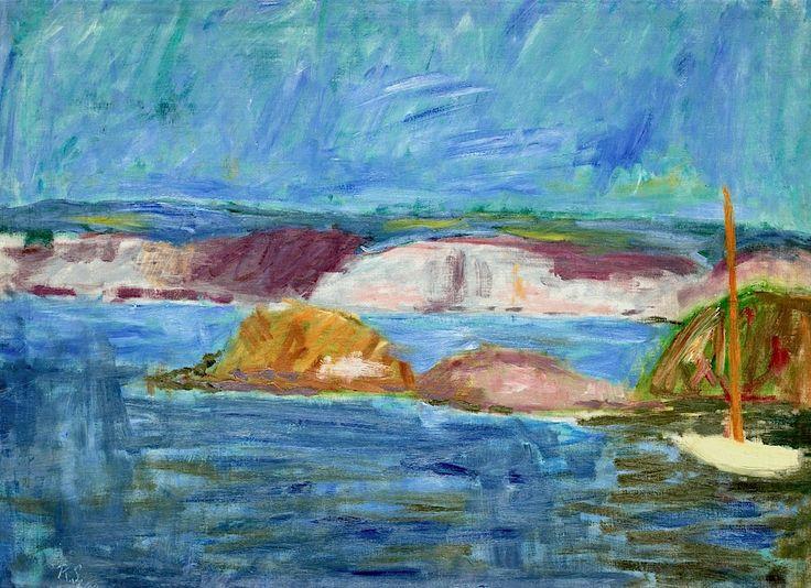 Ragnar Sandberg 1902-1972 Summer Evening in the Archipelago