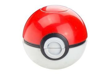 """Pokeball Grinder DIAMETER/ HEIGHT/ WEIGHT: 2.00""""/ 2.00""""/ 4OZ This item made up of 3 pieces:  1 piece is the Grinding Section 2 piece is the Grinding Section and the Screen Compartment 3 piece is the Pollen Collector The 1st and 2nd piece are held together by Magnets. There are 12 sharp teeth on top and 14 sharp teeth on the bottom of the grinding section. The 2nd and 3rd piece can be screwed together; so no parts can be lost."""