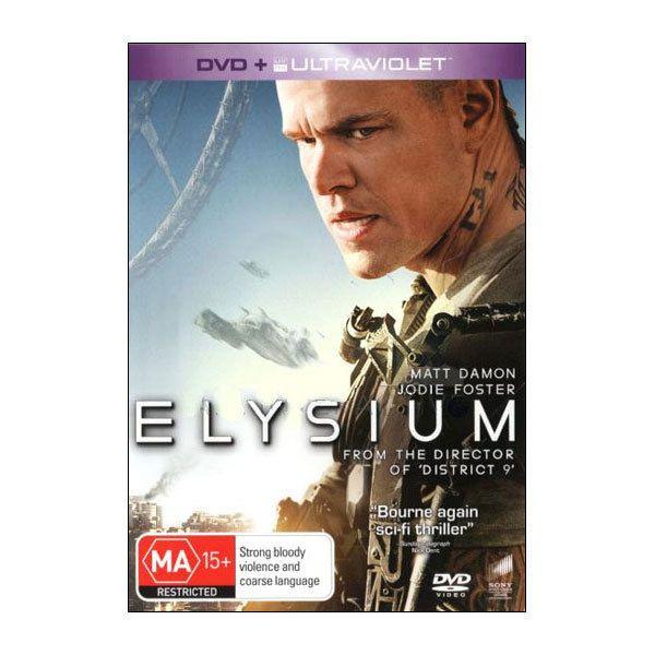 Elysium  (DVD)  - Matt Damon