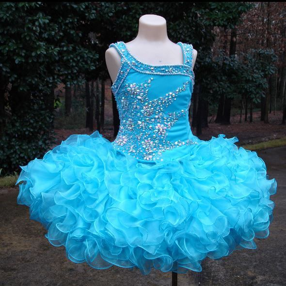 blue short mini pageant dresses, pageant dress for toddler