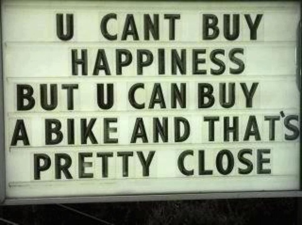 more bikes = more happiness :)