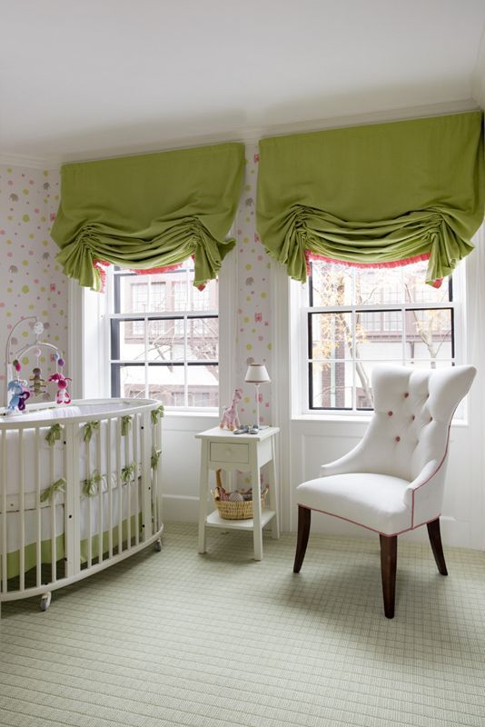 14 Fashion Forward Rooms For Every Design Lover: 24 Best Images About Nursery Blinds On Pinterest