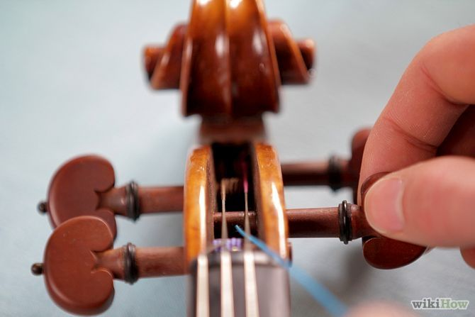 How to Change the Strings on a Violin or Fiddle