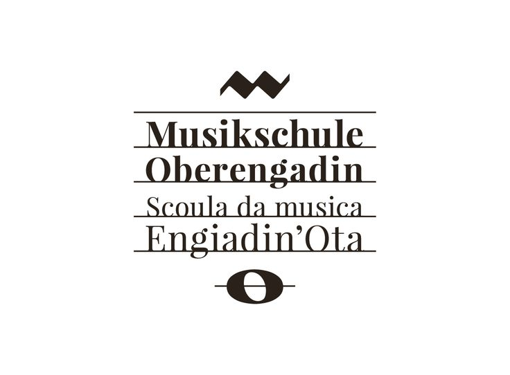 "Empfohlenes @Behance-Projekt: ""Musikschule Oberengadin"" https://www.behance.net/gallery/33446641/Musikschule-Oberengadin"