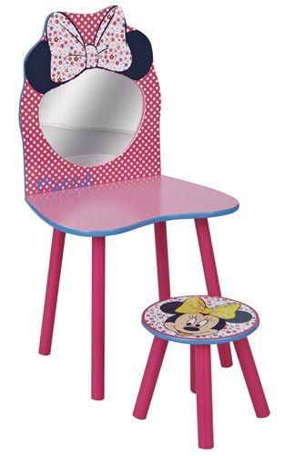 Minnie Mouse, Sminkbord & pall Bord Bord och stolar Inredning på nätet hos Lekmer.se