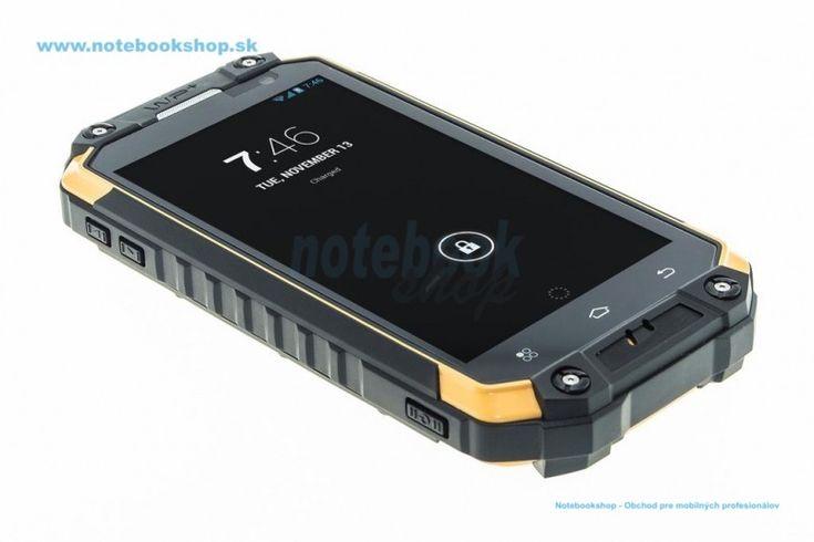 Uniq Phone X3 - Outdoor phone - Odolný mobilný telefón s OS Android 4.4.2 s vynikajúcimi parametrami: 8-jadrový procesor,kamera zadná 12Mpx, predná 5Mpx, 2GB RAM,  IP68..., ktorý tiež disponuje funkciou walkie talkie (komunikácia pomocou vysielačky). Spĺňa vojenskú normu MIL-STD 810G a IP68.