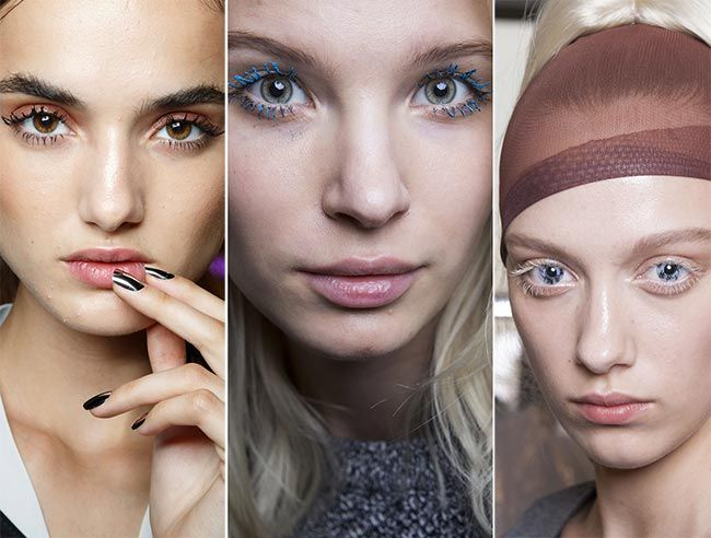 Spring/ Summer 2015 Makeup Trends: Expressive Eyelashes  #makeup #makeuptrends #beauty