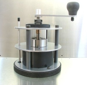 For the total coffee nerd...OE Pharos hand coffee grinder