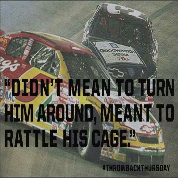 The Intimidator at his best. 1999, Bristol. #DaleEarnhardtMemorial http://www.pinterest.com/jr88rules/dale-earnhardt-memorial/