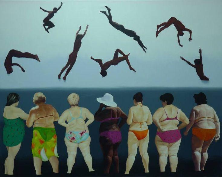 """Saatchi Art Artist Julita Malinowska; Painting, """"Harmony"""" #art"""
