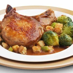 savory honey mustard pork chops recipe | pork chop recipes