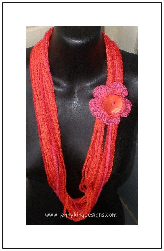 Chianti Flower and Scarf pattern