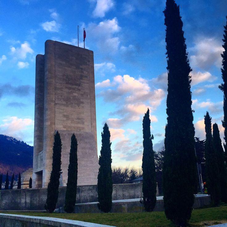 _pierbenato_ 13.02.2016 War Memorial by Giuseppe Terragni (1933) | (drawings Antonio Sant'Elia)