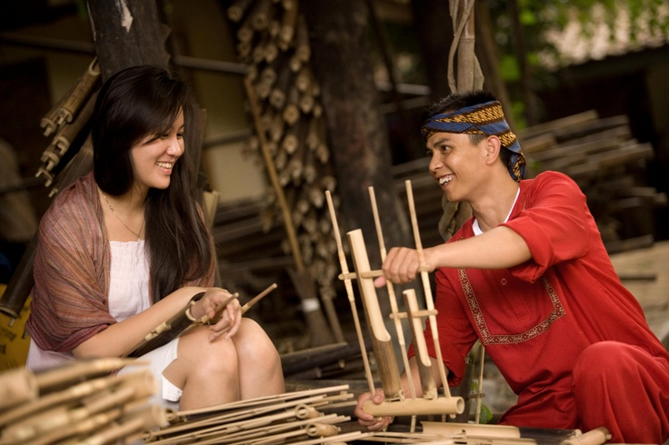Two of Sundanese and Angklung