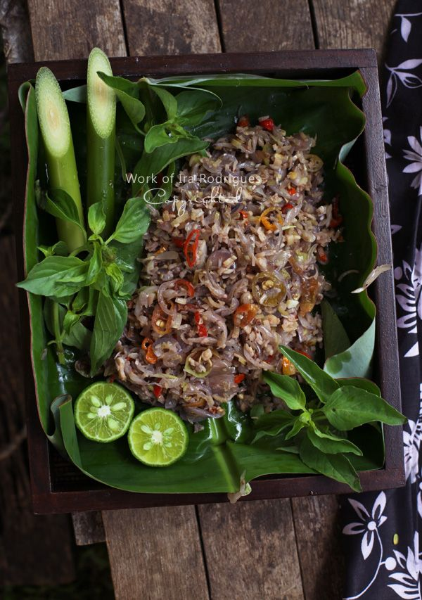 Balinese sambal bongkot. Recipe at indonesiaeats.com