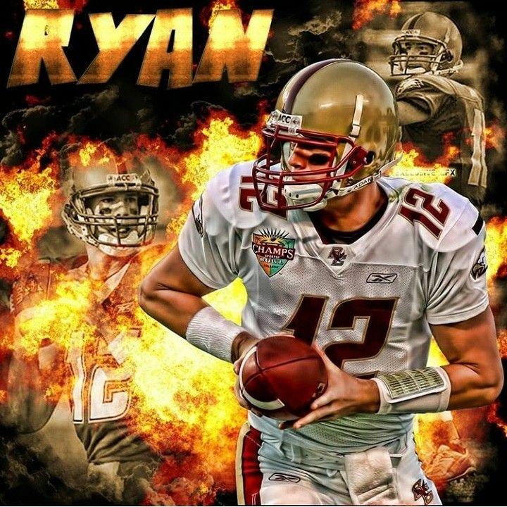 Matt Ryan Boston College Boston College Eagles College Football Players Sports Art