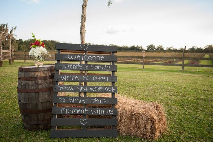 It is pretty clear how much we love rustic weddings but after we saw this rustic inspiration we feel in love with something else…rustic engagement parties. Taking place at the Florida barn wedding venue, Wishing Well Barn this party showcases some pretty awesome ideas and even better design details. One of my favorite touches are the jam favors from Miss Shelly's Southern Jams & Jellies. From the photographer:Yara and Wissam are going to be having a traditional cultural wedding later this…