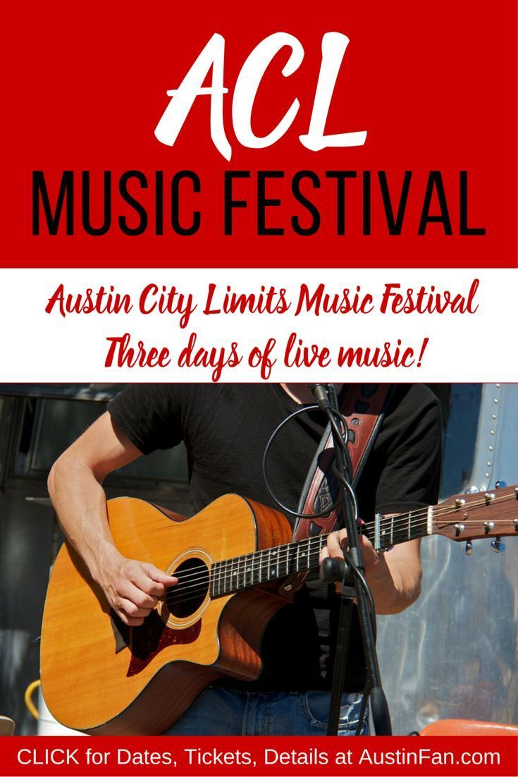 ACL Music Festival in Austin Texas brings peeps from across the globe who want to participate in this iconic music event. If you want to be a part of the ACL Festival experience, click for ACL tickets and dates… and maybe I'll see you there! AustinFan.com/acl