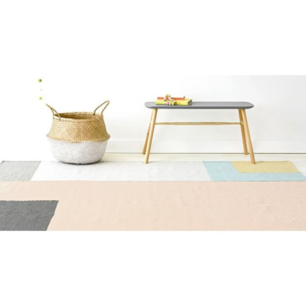 Olli Ella S Nova Kilim Rug Is Made From Wool Pastel Colour Palette Make It A Great Neutral Addition For Any Home