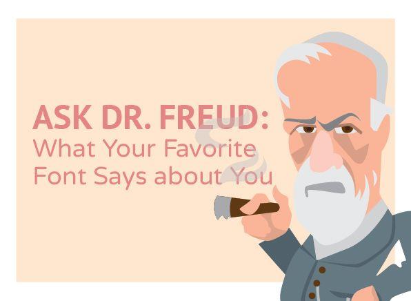 Font Infographic Dr. Freud #Font #Infographic #inspiration #designer #design