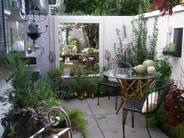 Courtyard Patio, It Is The Entrance To My Townhouse Condo And The Only  Private Outdoor