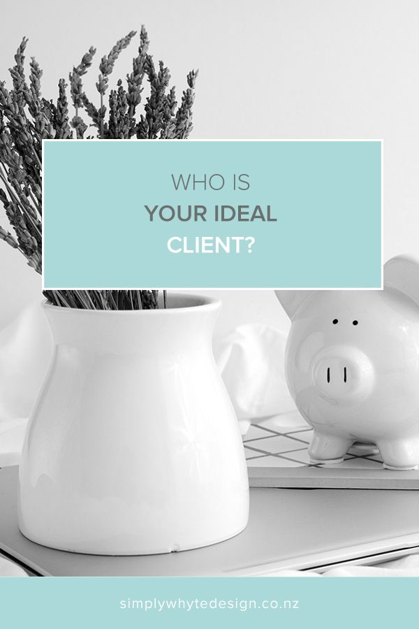 https://www.simplywhytedesign.co.nz/news/find-your-ideal-client When I'm designing anything for a client I like to imagine the person I am designing it for. Who are they? What do they like? Where do they live? What car do they drive?